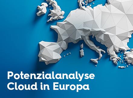 Potenzialanalyse Cloud in Europa Studienbild