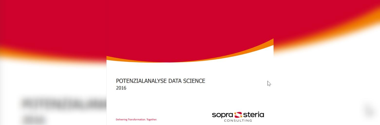 Potenzialanalyse Data Science 2016